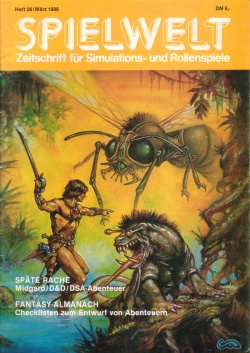 Cover Spielwelt 26