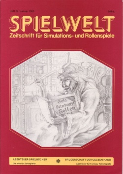 Cover Spielwelt 22