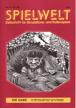 Cover Spielwelt 23